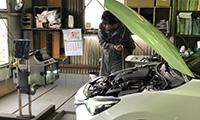 検査・洗車